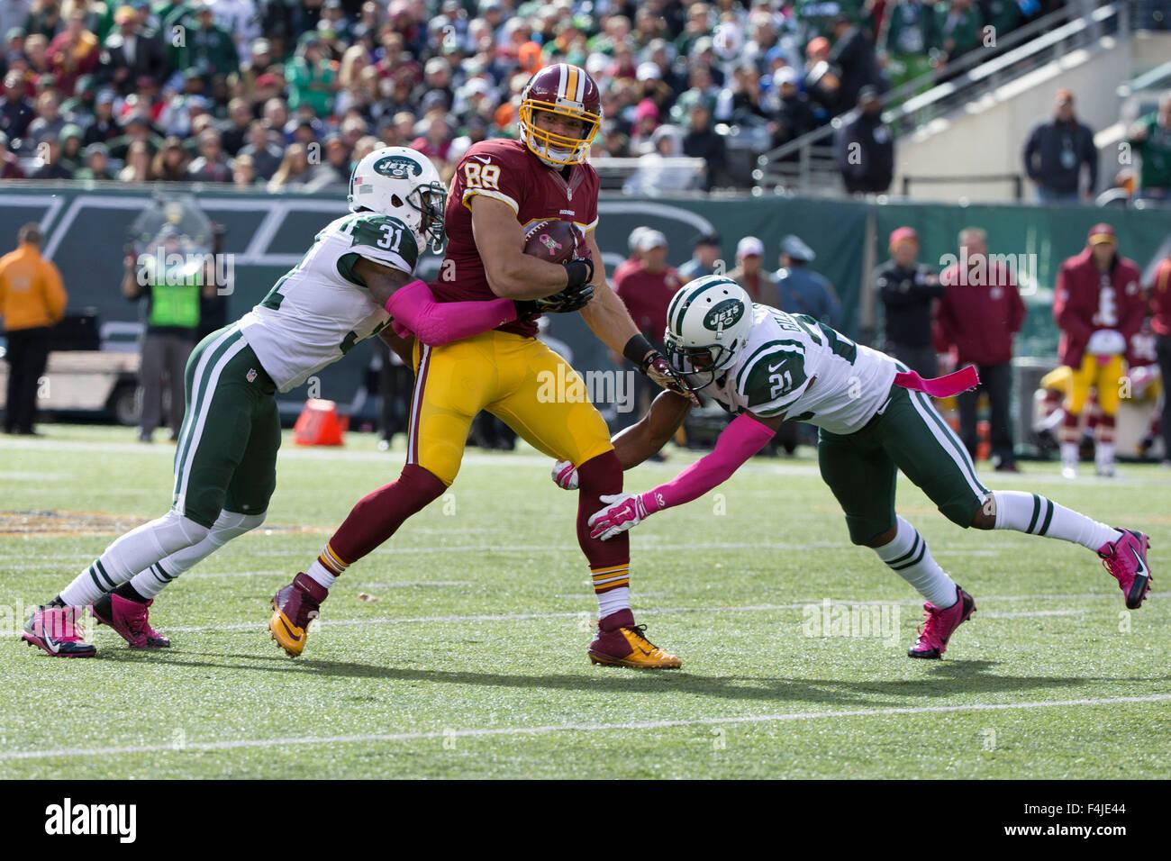 NFL Jerseys Nike - East Rutherford, New Jersey, Usa. 18th Oct, 2015. Washington ...