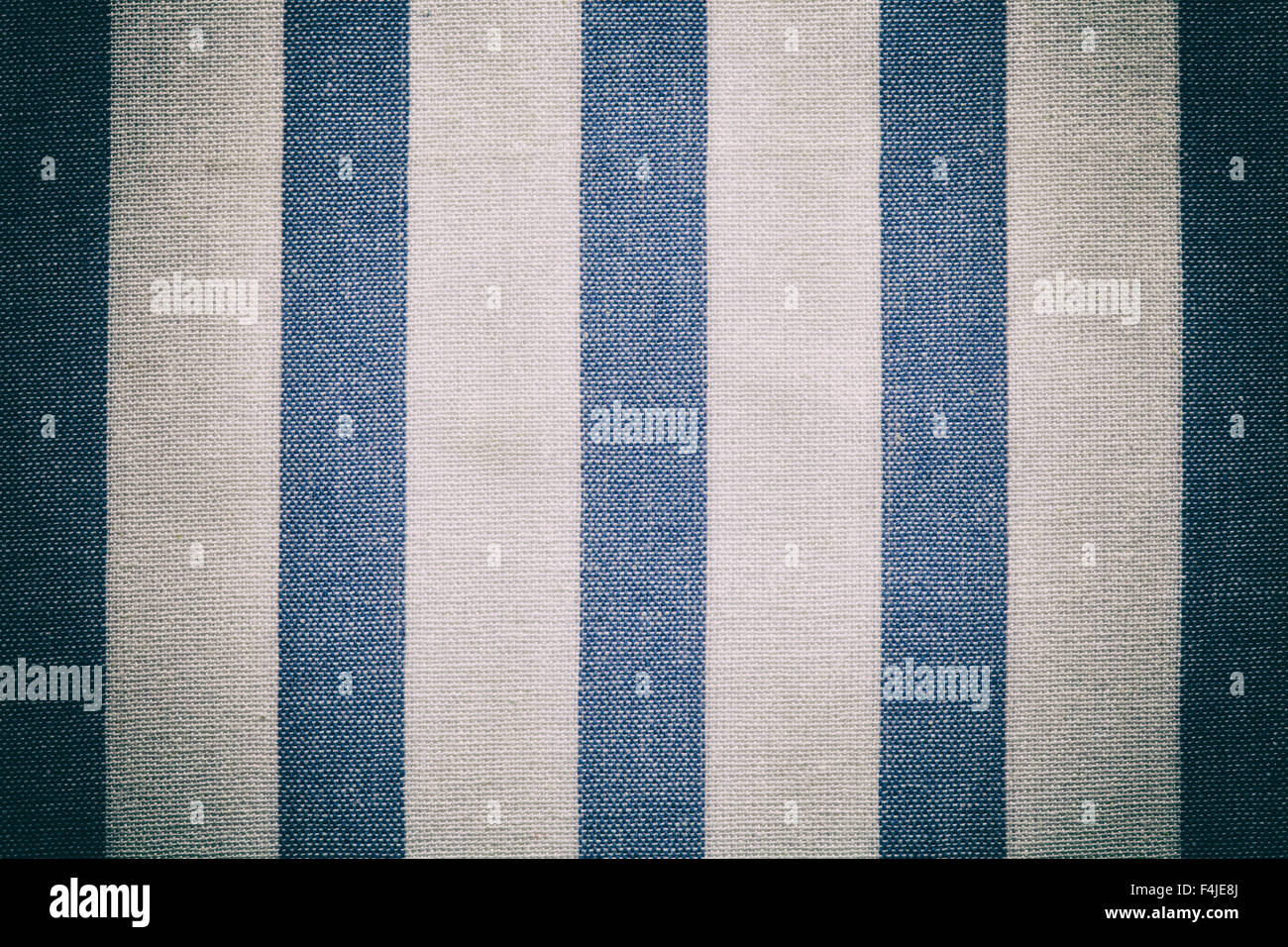 Blue tablecloth background - Stock Photo Blue White Vintage Texture Fabric Cotton Background Cotton Textile Tablecloth Gingham Old Vintage Effect