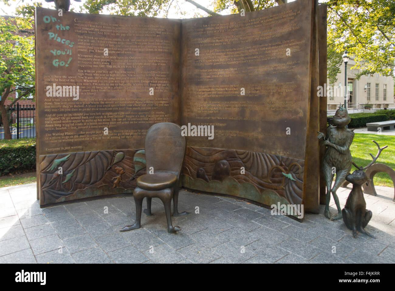 Dr Seuss National Memorial Sculpture Garden Stock Photo Royalty Free Image 88921163 Alamy