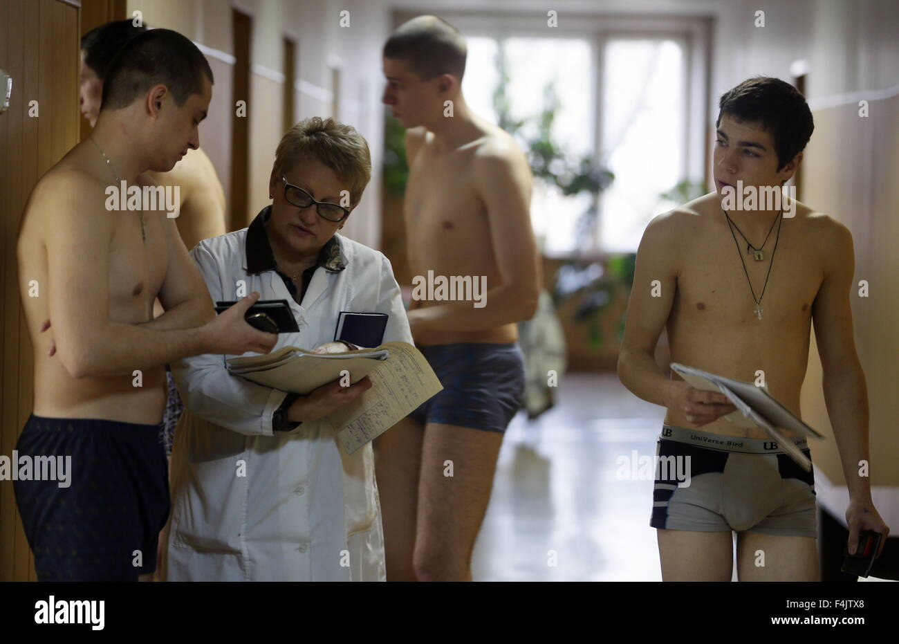 medical examination of nude