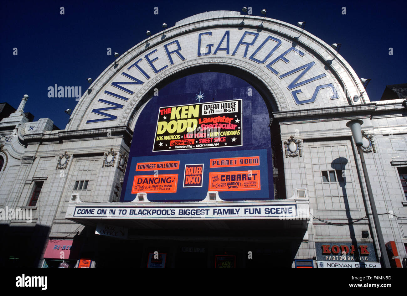 blackpool winter gardens music hall theatre blackpool british
