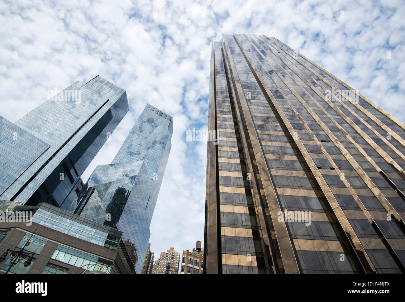 Stock photo trump international hotel and tower central park west new york city usa