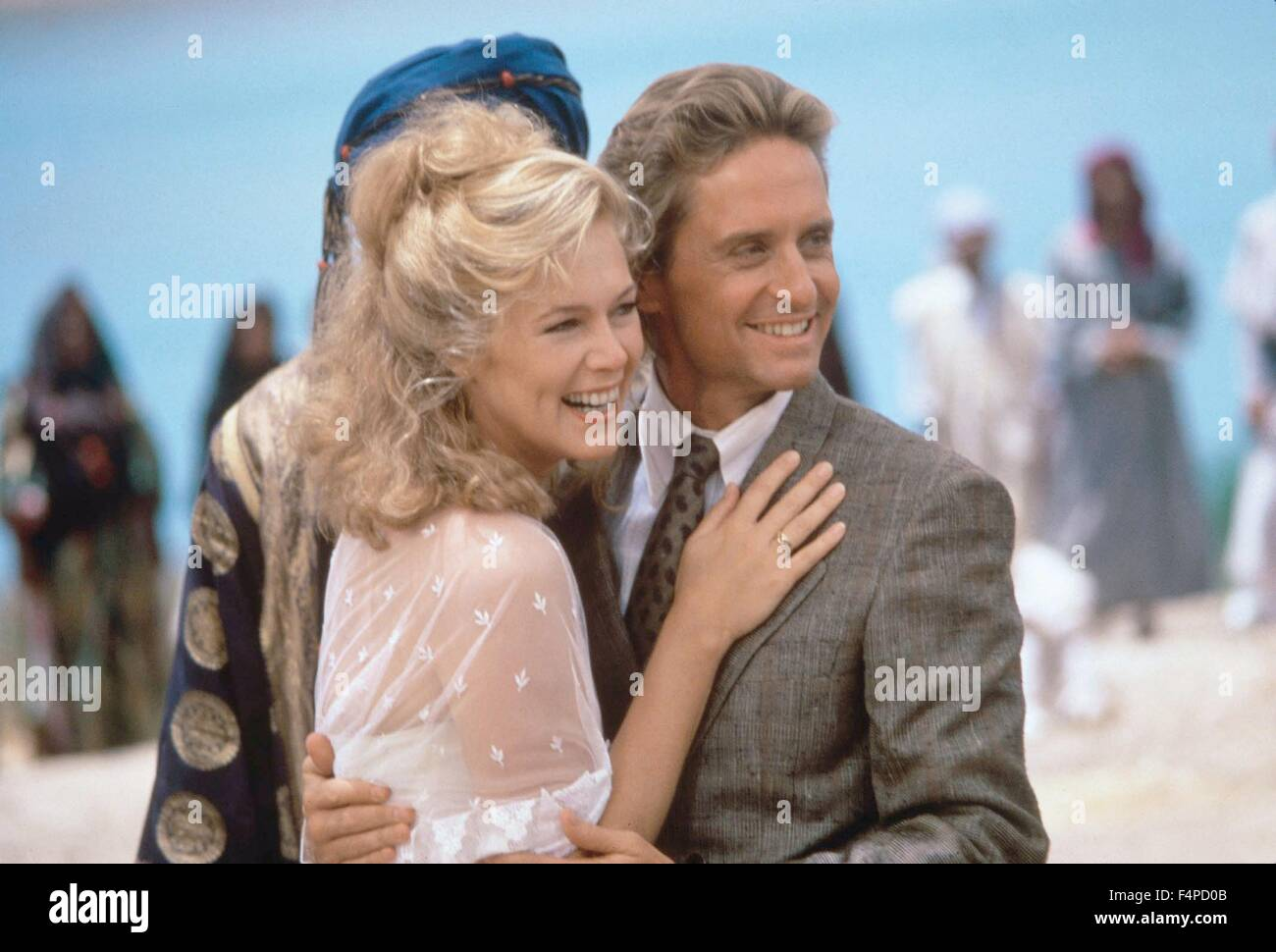 Kathleen Turner, Michael Douglas / The Jewel Of The Nile ...