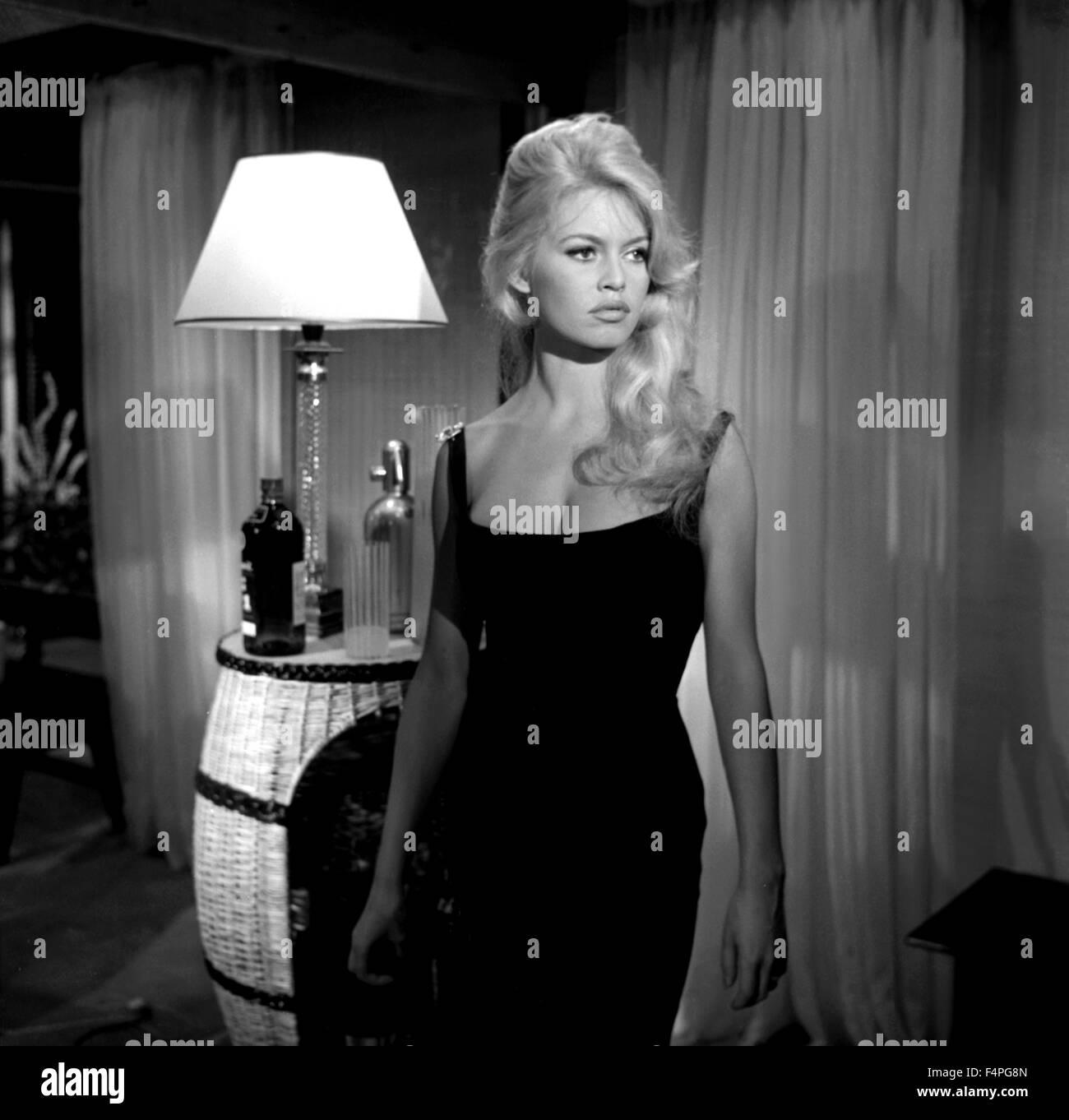 Brigitte bardot come dance with me 1959 directed by michel stock photo r - Maison brigitte bardot ...