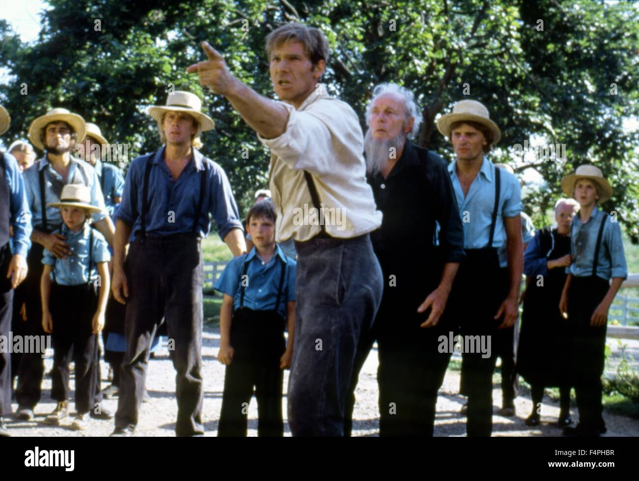 witness amish and weir Witness is a 1985 thriller about a young amish boy is sole witness to a  peter  weir's witness where he finally earned some real acting cred,.