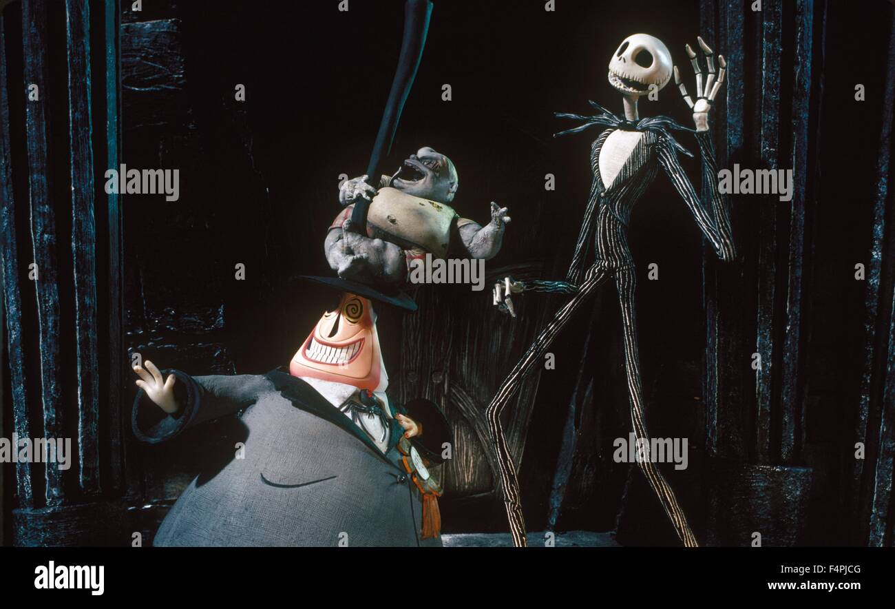 The Nightmare Before Christmas / 1993 directed by Henry Selick ...