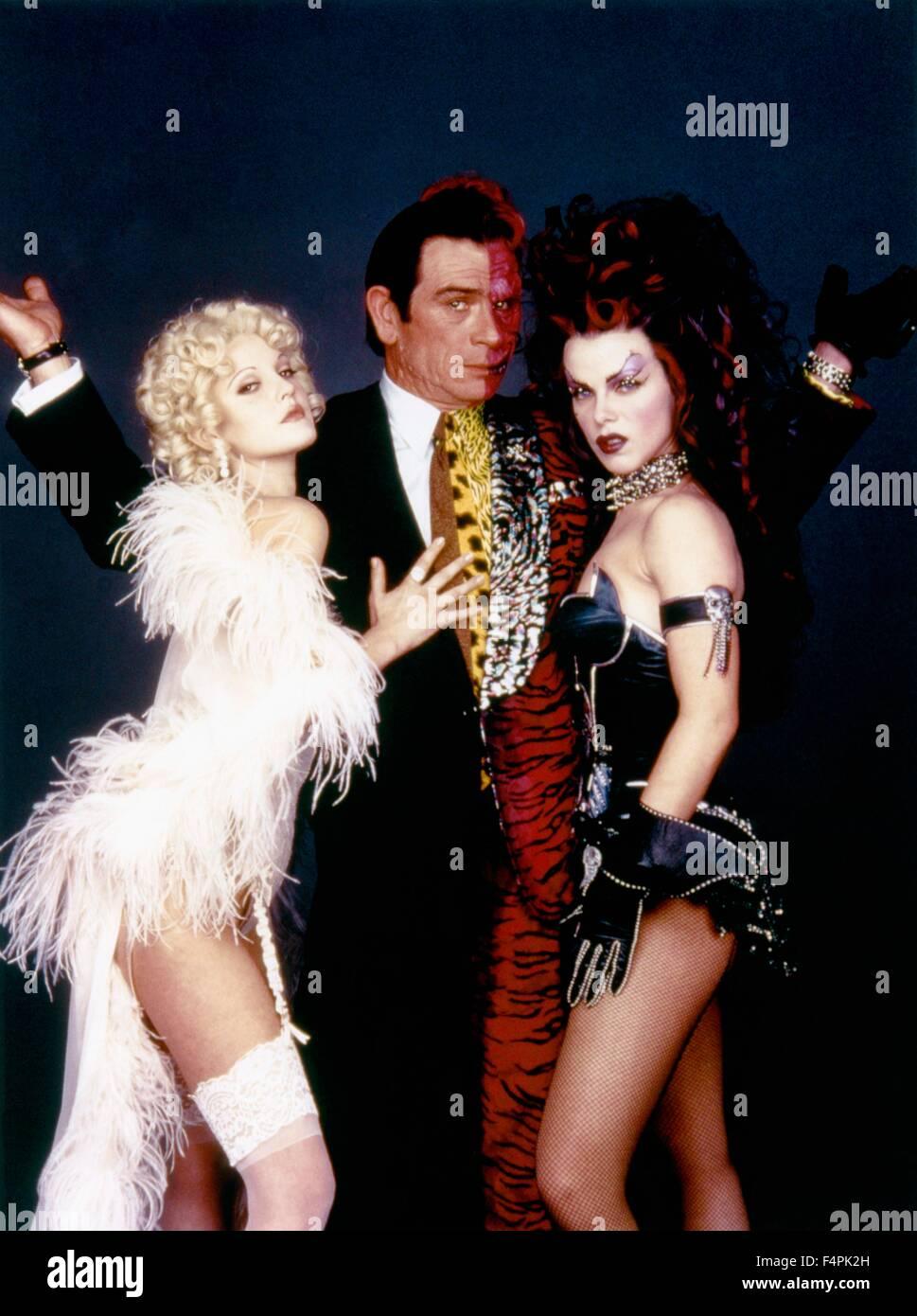 Drew barrymore tommy lee jones and debi mazar batman forever 1995 directed by