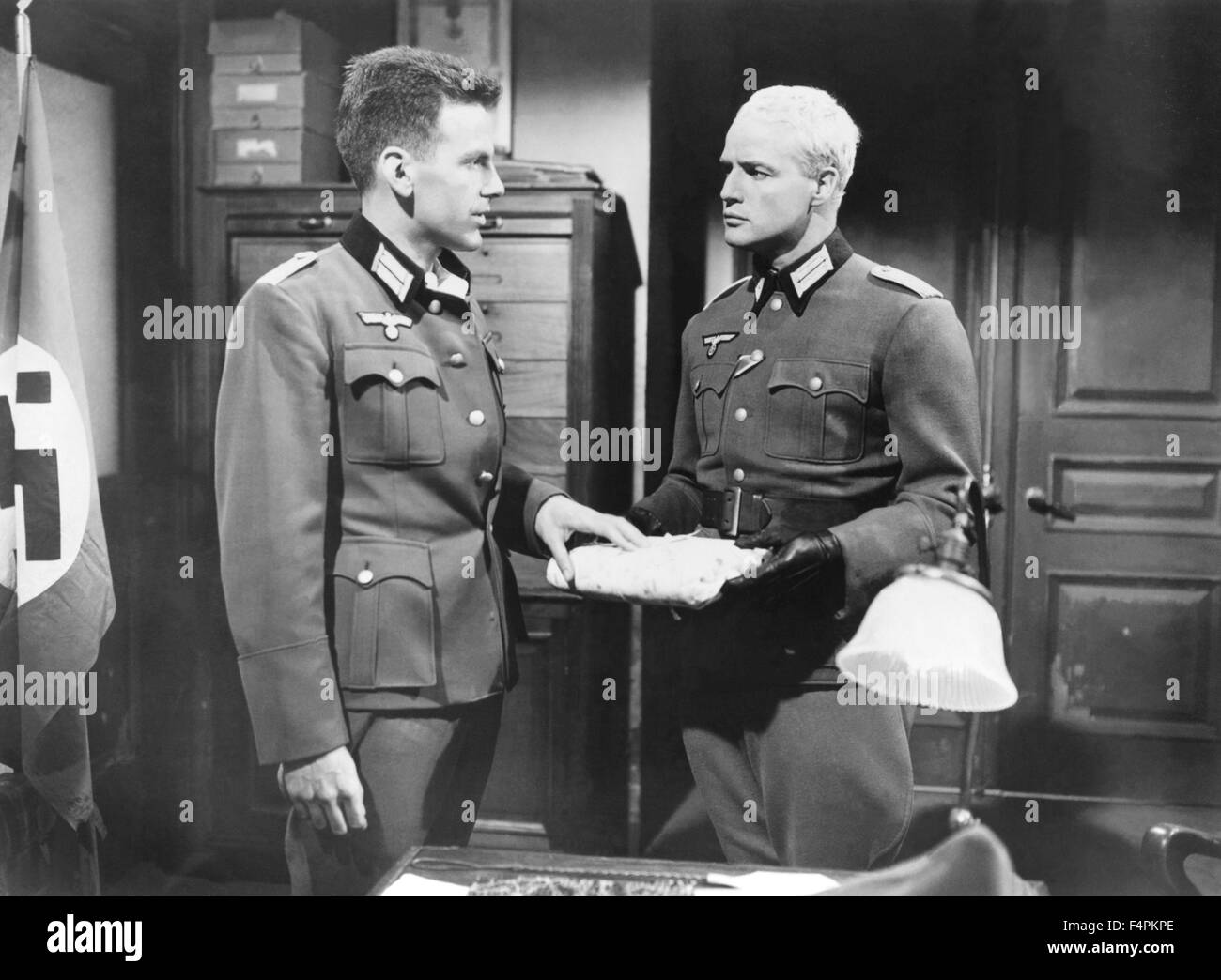Jacques schell photographe synthesis of all pictures from www - Maximilian Schell And Marlon Brando The Young Lions 1958 Directed By Edward Dmytryk