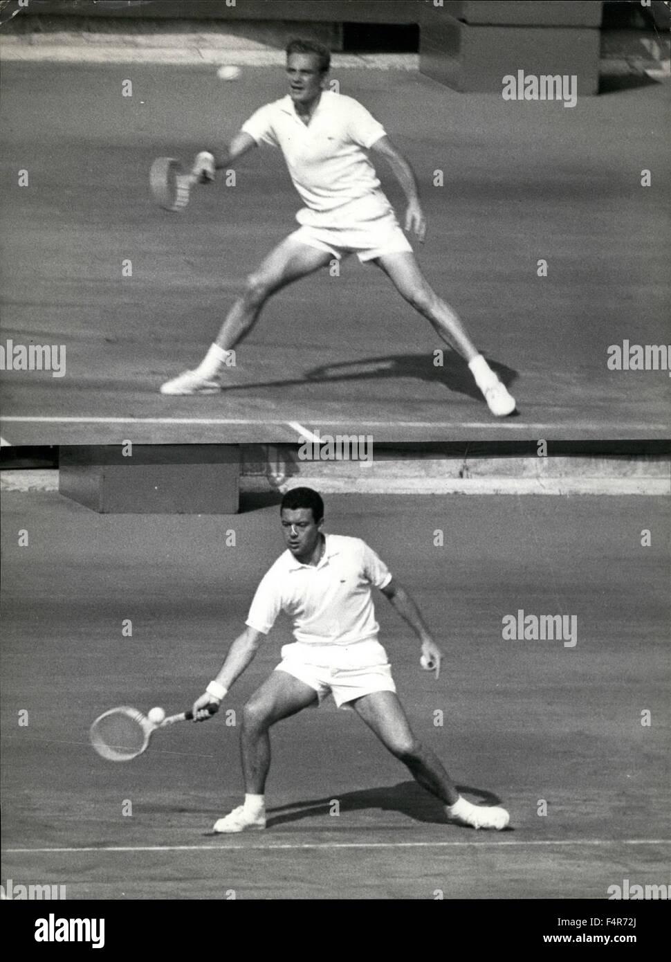 1971 Rome Davis Cup Tournament Interzone finals bottom