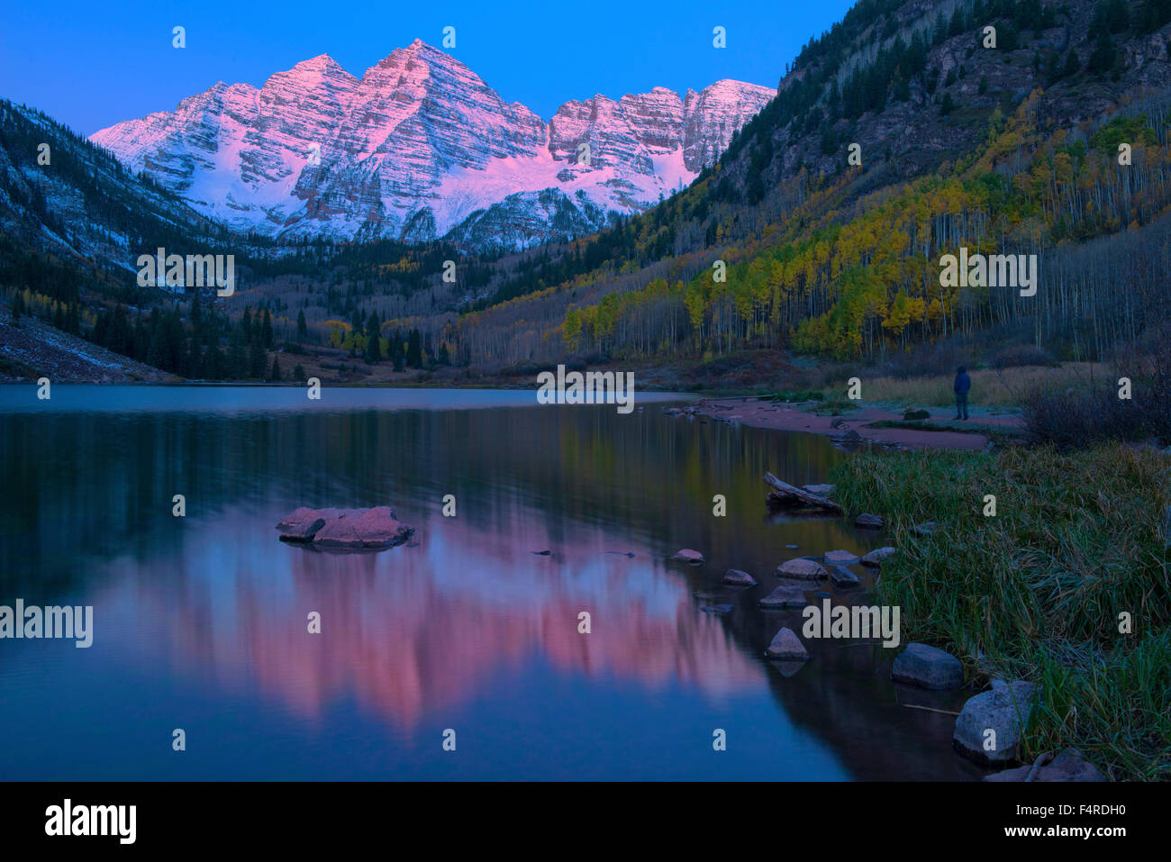 USA UnitedStates America Colorado Rocky Mountains Aspen - United states mountains