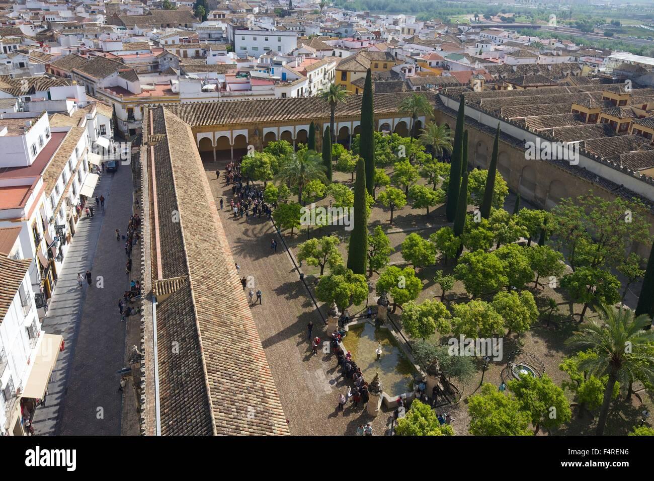 Patio de los Naranjos, Orange tree garden, from the Bell ...