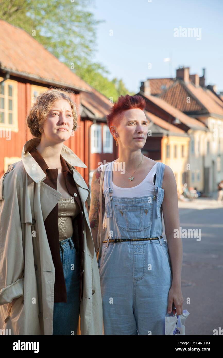 female friends sweden