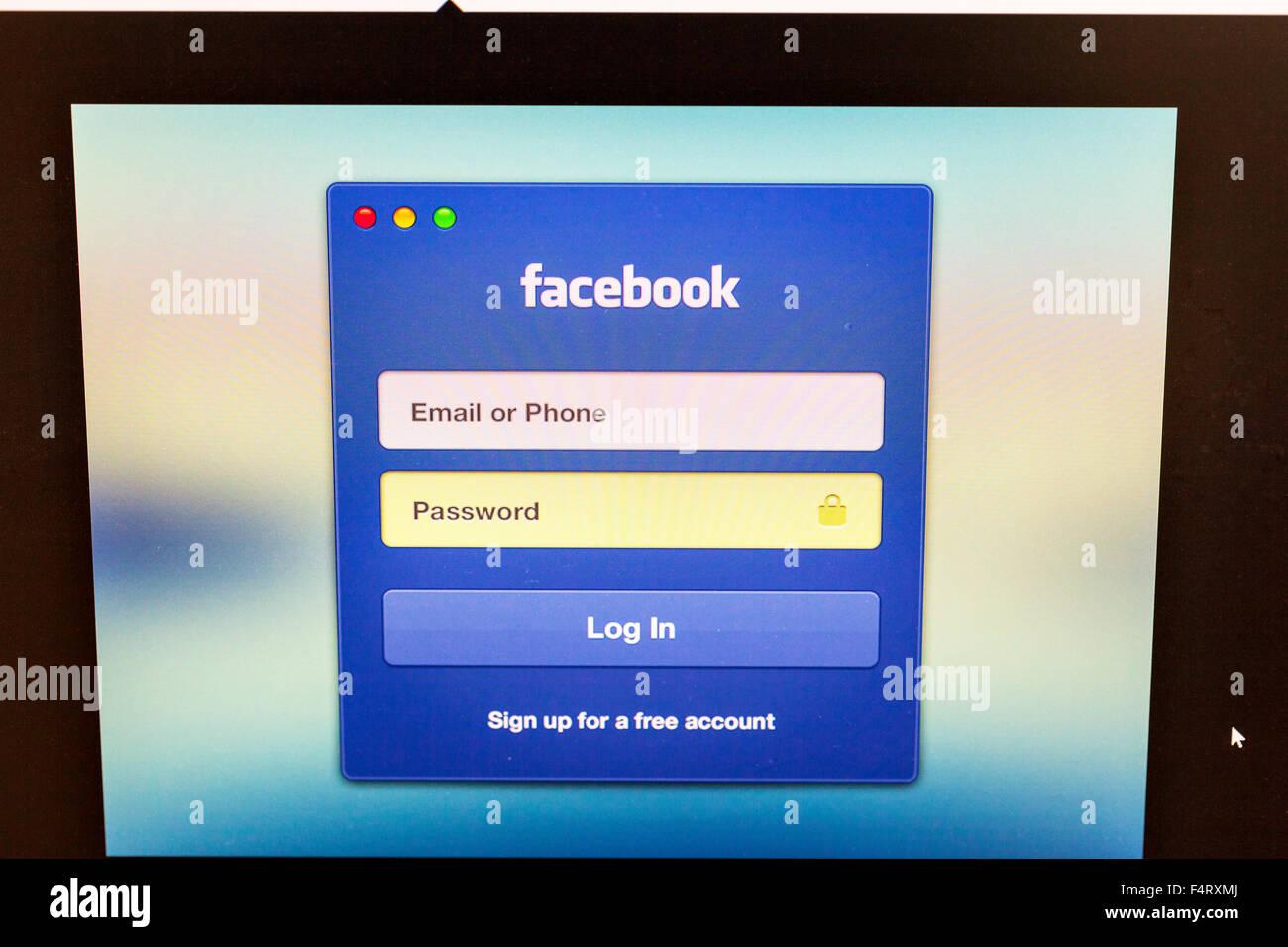 facebook log in deutsch