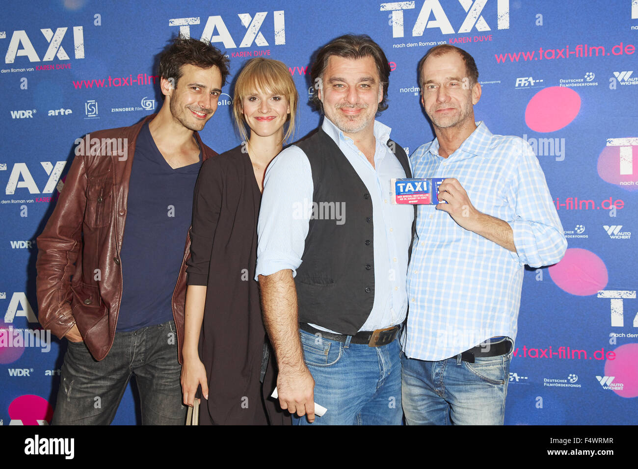 Schön Premiere Movie Taxi Featuring: Valentin Schreyer, Cosima Viola, Erkan  Gündüz, Georg Uecker Where: Cologne, Germany When: 20 Aug 2015