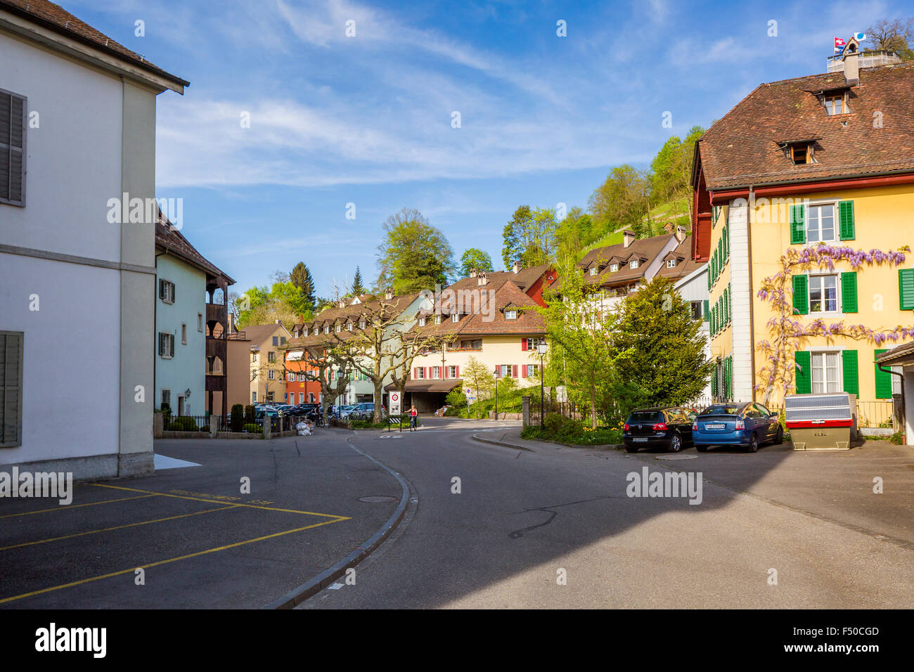 Lenzburg Canton Aargau Switzerland Stock Photo Royalty Free Image
