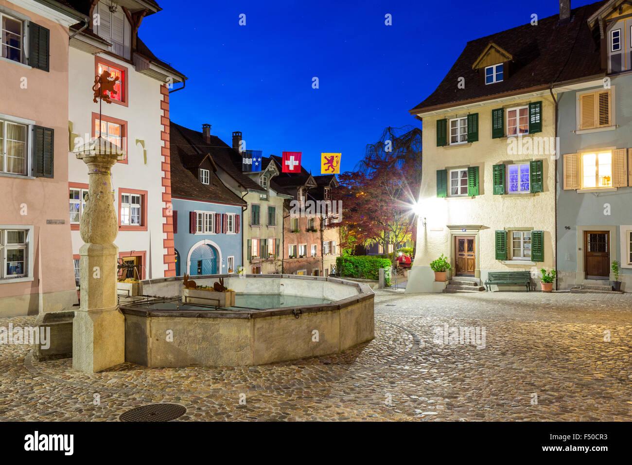 Laufenburg Canton Aargau Switzerland Stock Photo Royalty Free