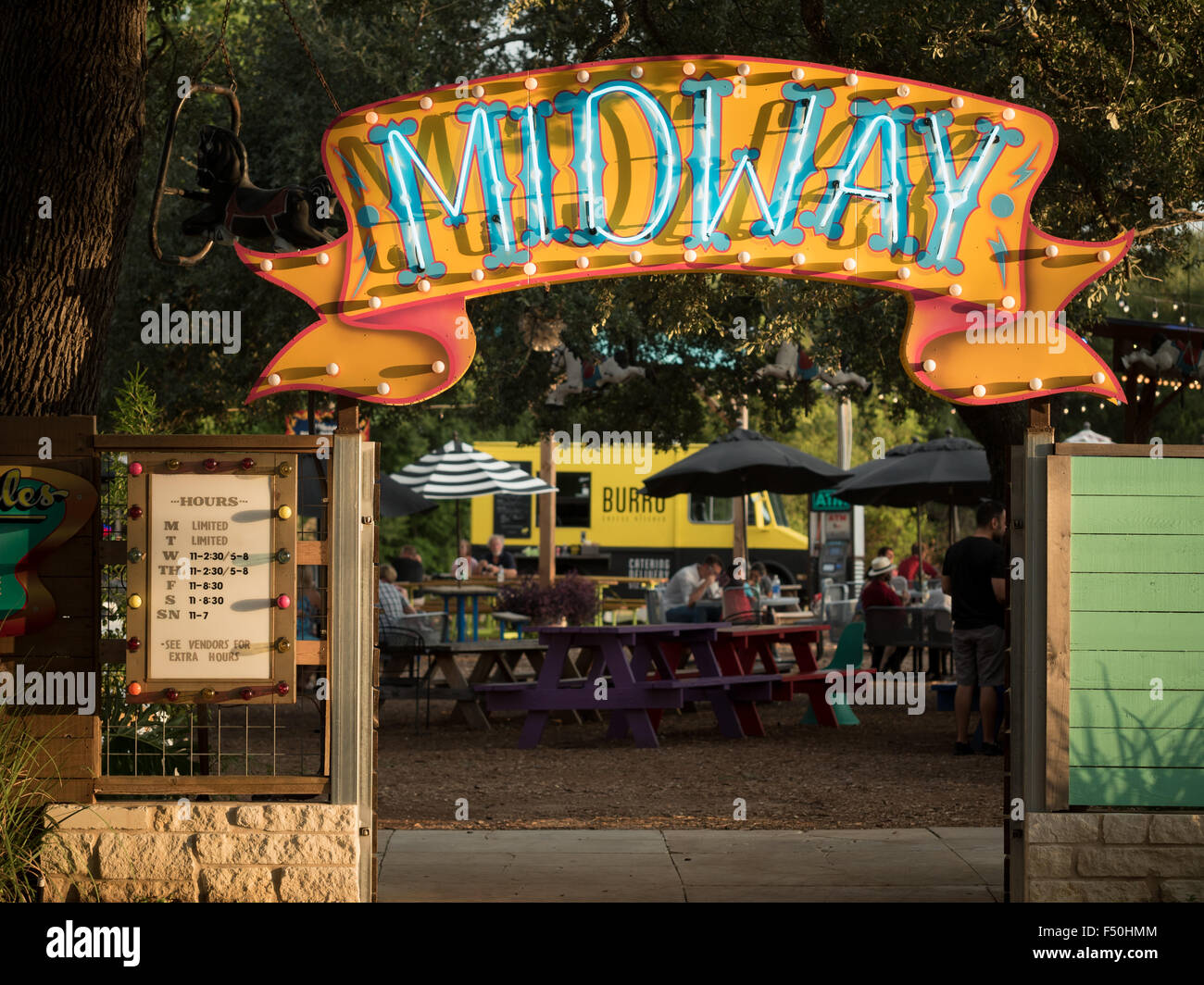Food Truck Trailer Park Austin
