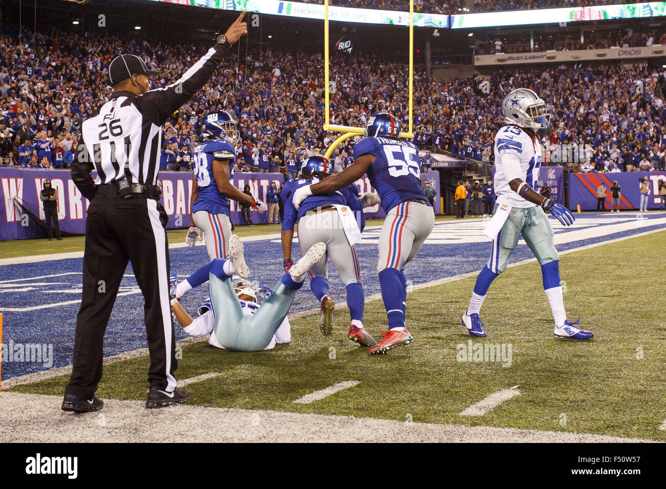NFL Jerseys Online - East Rutherford, New Jersey, Usa. 25th Oct, 2015. New York Giants ...