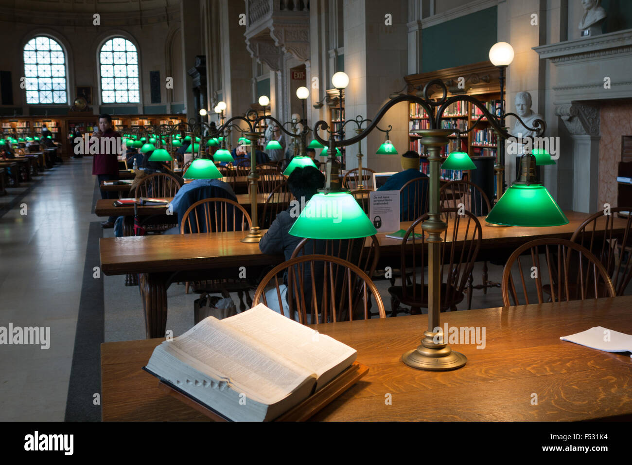 Boston library table lamp mckim reading room stock photo 89192296 boston library table lamp mckim reading room mozeypictures Gallery