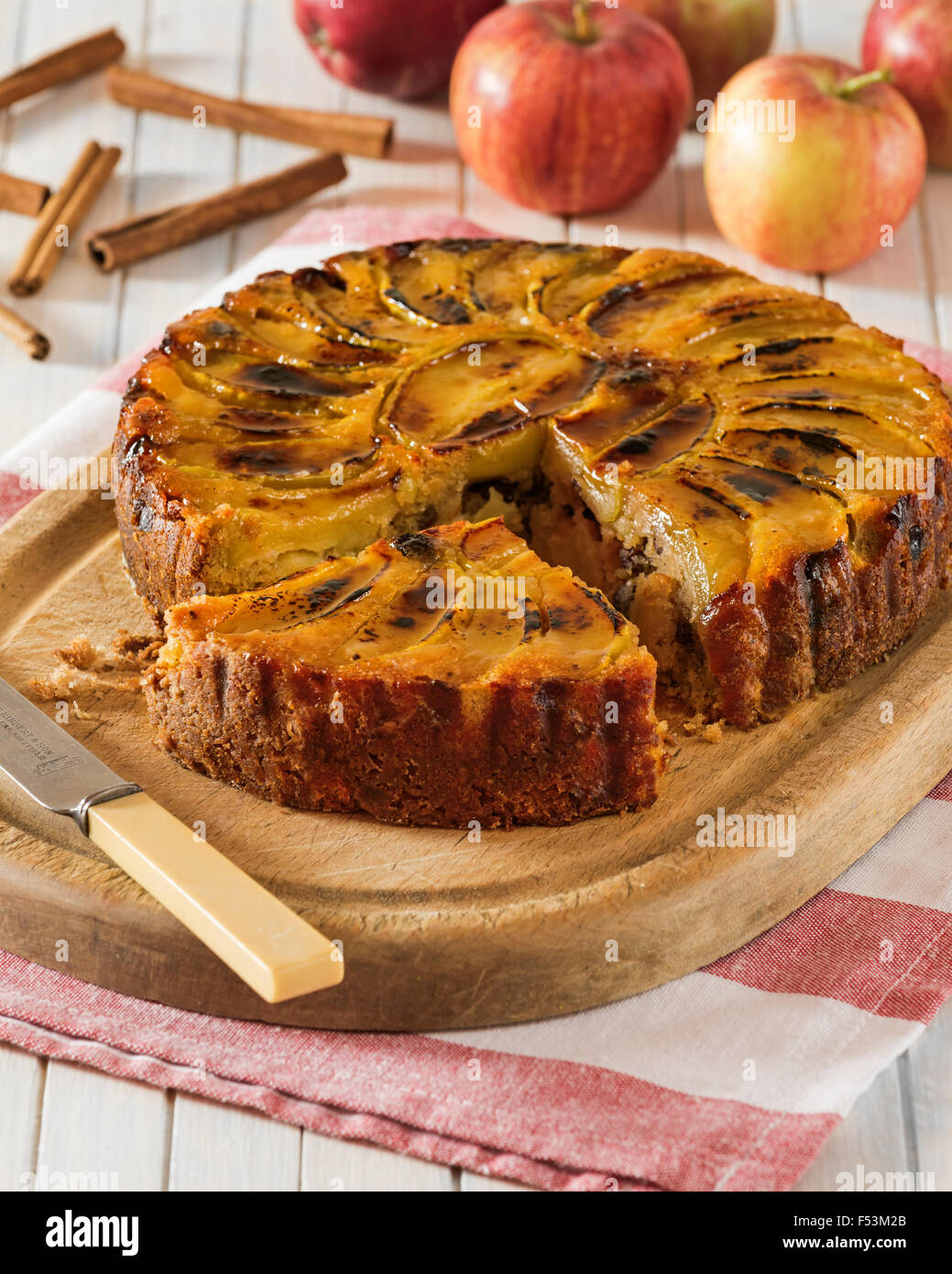 West Country Apple Cake