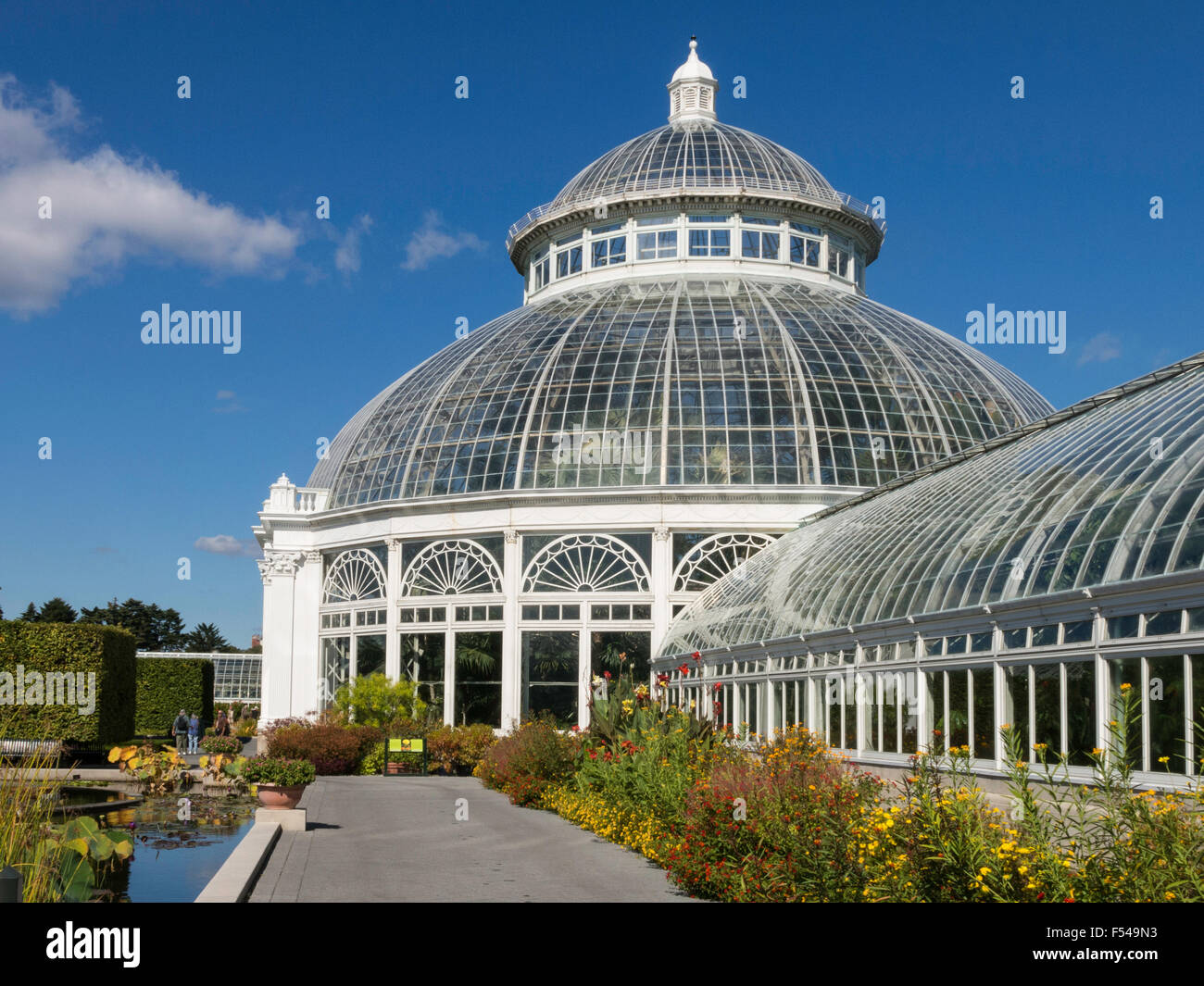 Haupt Conservatory In The New York Botanical Garden The Bronx Ny Stock Photo Royalty Free