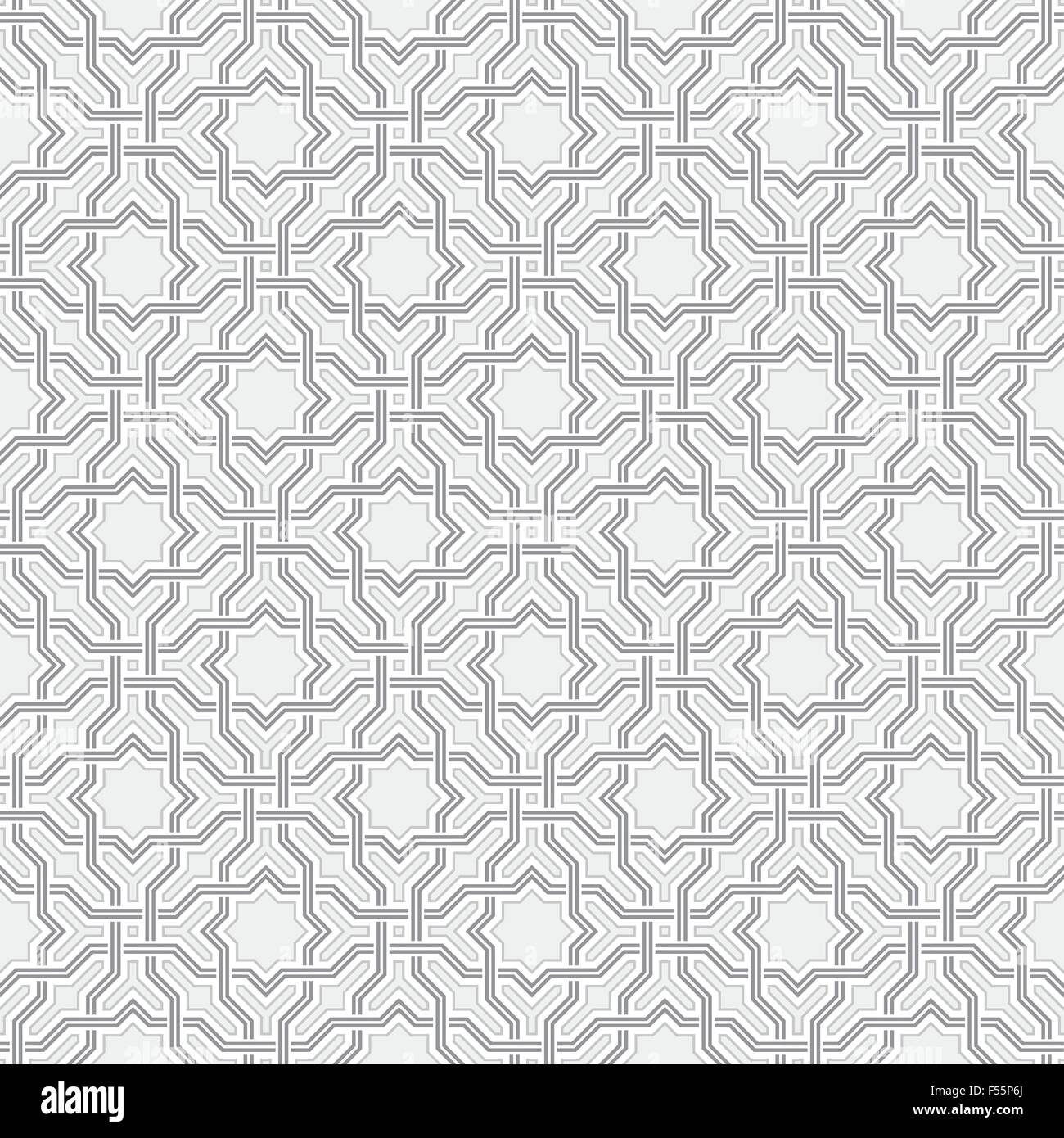 Arabesque pattern in Arabian style, Seamless vector background ... for Modern Arabic Pattern Vector  34eri