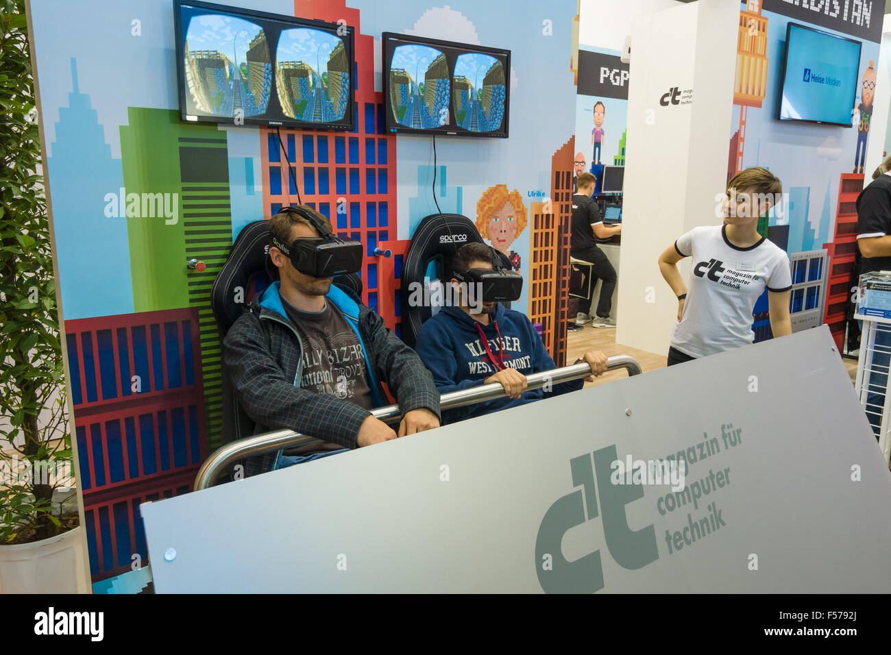 Virtual Exhibition Stand : Stand for testing virtual reality equipment oculus rift