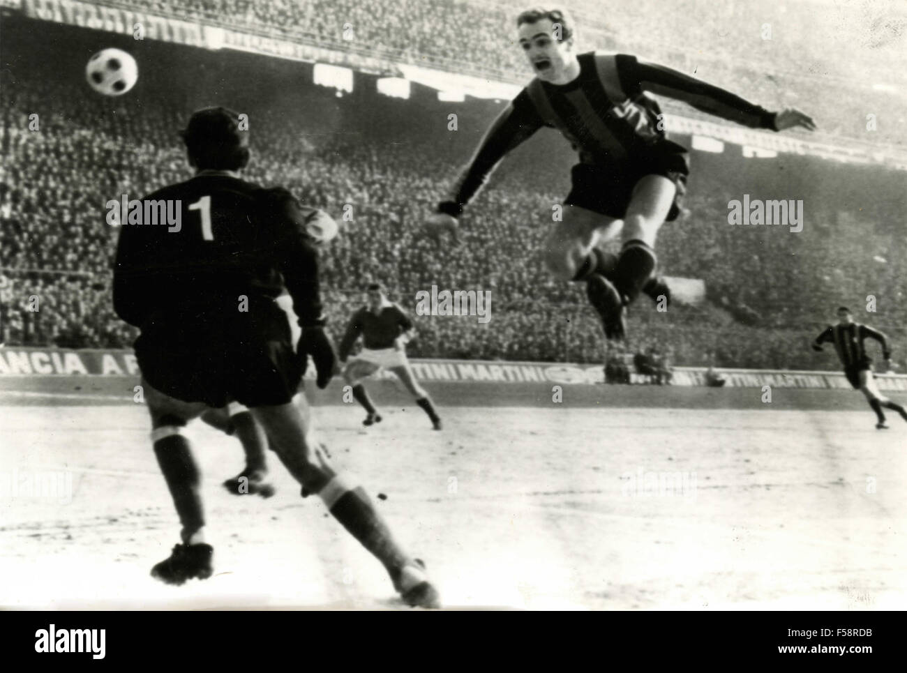 The Italian soccer player Sandro Mazzola Italy Stock