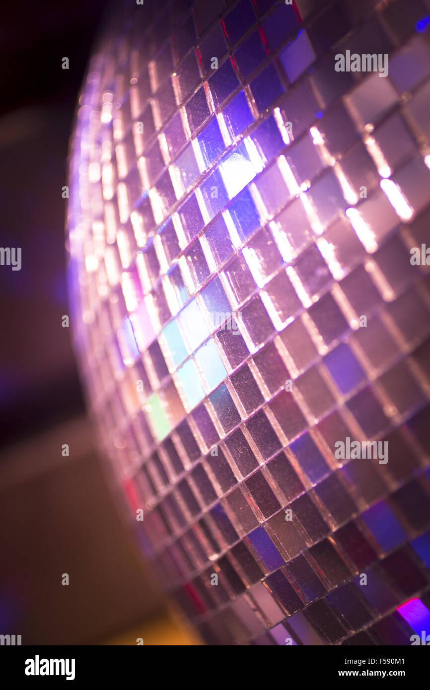 Disco ball in Ibiza house techno dance music wedding reception ...