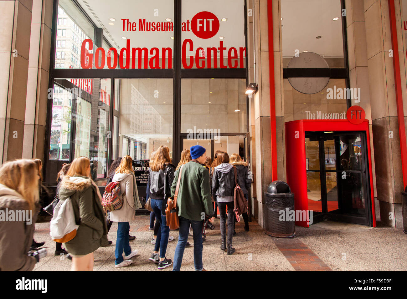 The goodman center and the museum at fit 7th avenue new for Fashion museum new york