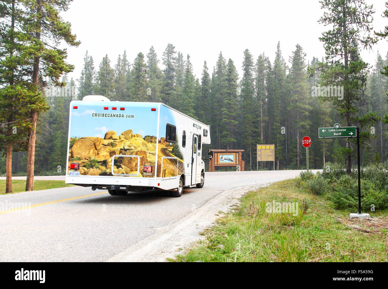 A Cruisecanada Recreation Vehicle Or Rv Or Mobile Home