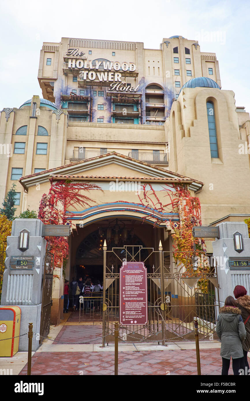 The Hollywood Tower Hotel Attraction Walt Disney Studios