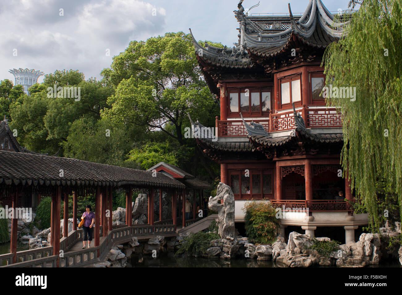 Yuyuan Or Yu Garden Jade Garden Old Town Shanghai China