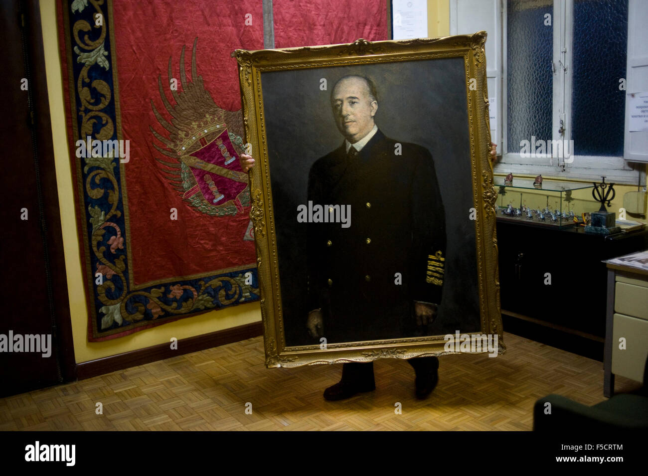 Francisco franco foundation in madrid spain fundacion franquismo dictator general generalisimo dictatorship spanish