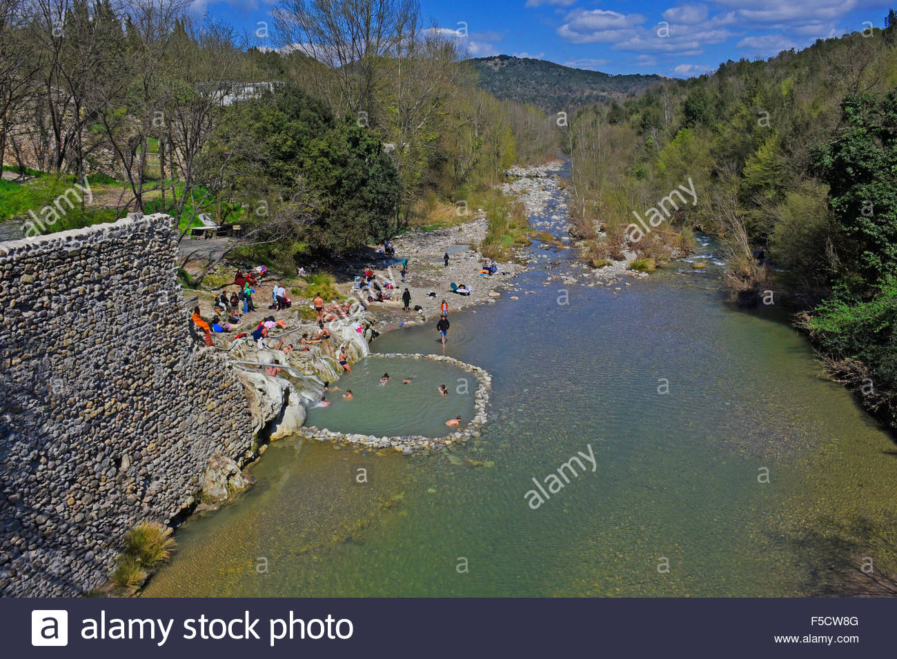 07042015 monticiano tuscany italy bagni di petriolo is a district of monticiano in the province of siena the place is mostly known for its spas