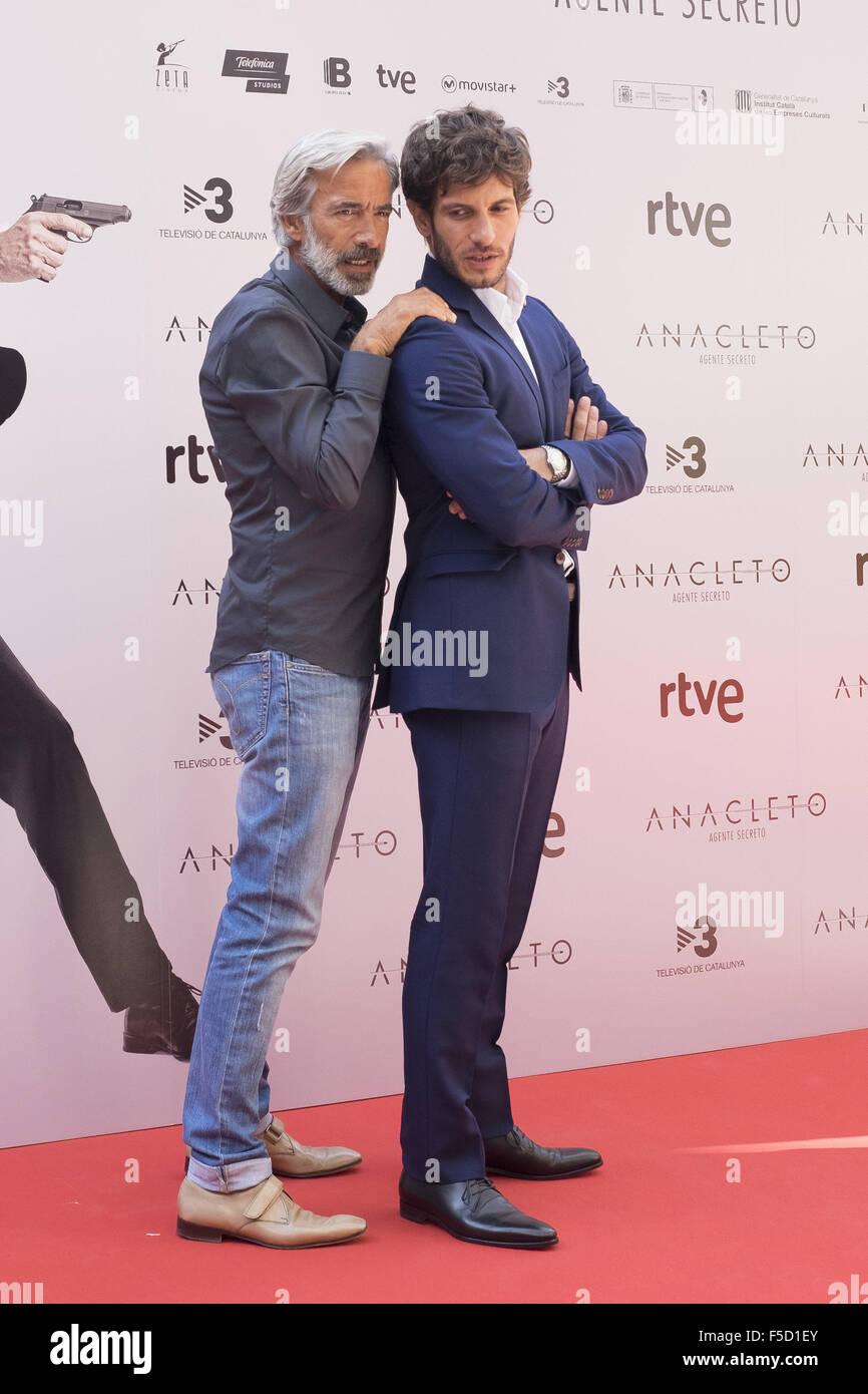 ¿Cuánto mide Quim Gutiérrez? Anacleto-secret-agent-photocall-featuring-quim-gutirrez-imanol-arias-F5D1EY