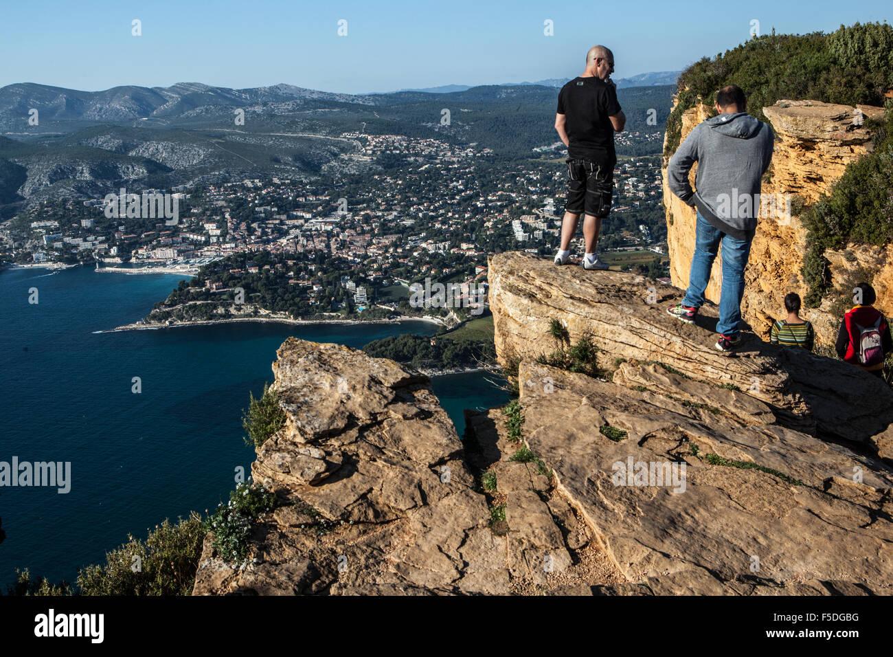 Cap canaille cassis bouches du rh ne france stock photo - Office du tourisme des bouches du rhone ...