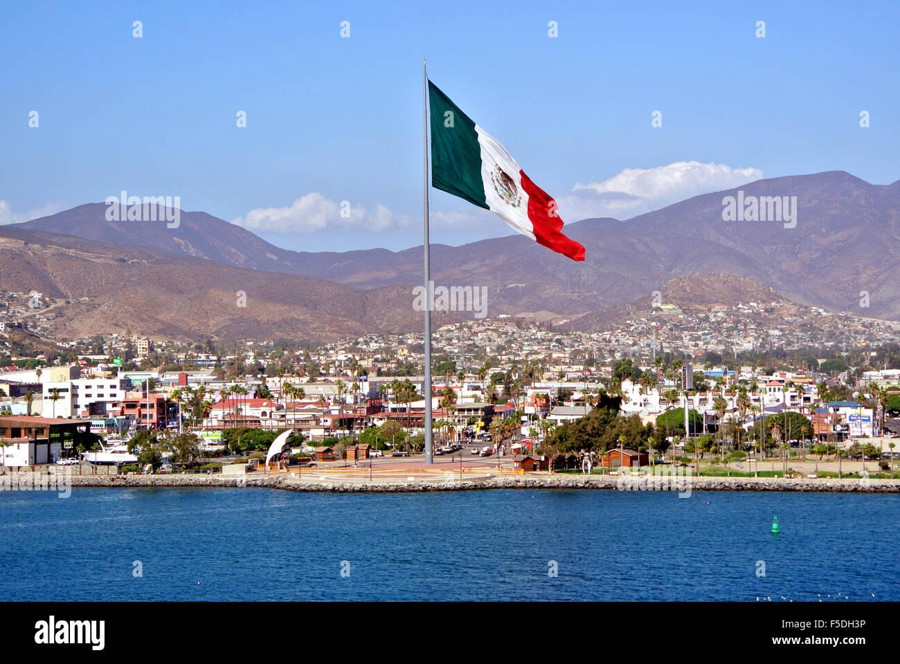 View Of Ensenada Mexico From Deck Of The Royal Princess Cruise - Cruise to ensenada