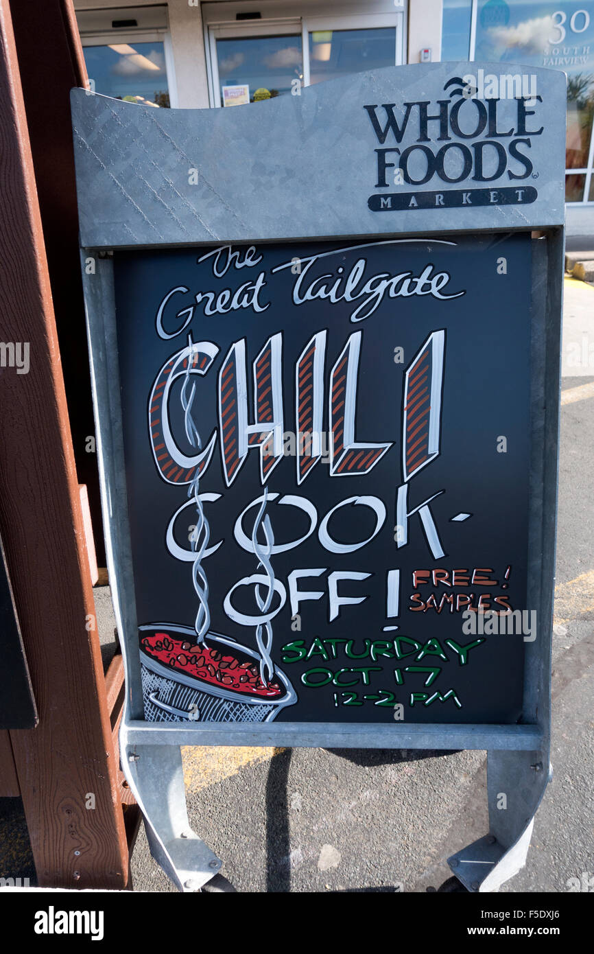 Whole Foods Chalkboard Signs