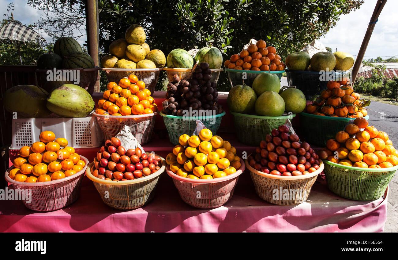 blocks fruit market tropical fruit