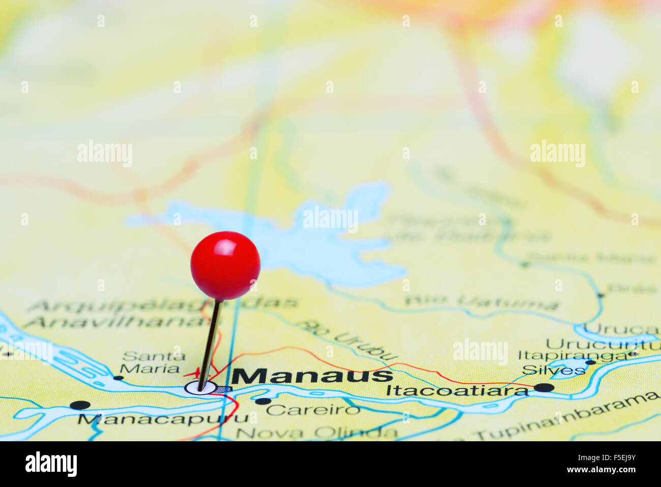 Manaus Brazil Map Dia Airport Map Double Map - Manaus map
