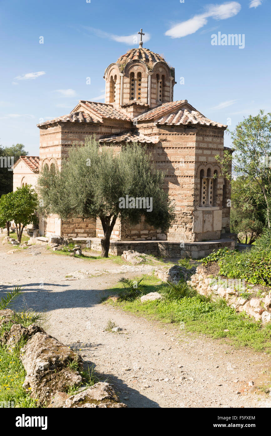 The byzantine church of the Holy Apostles of Solaki in the ...