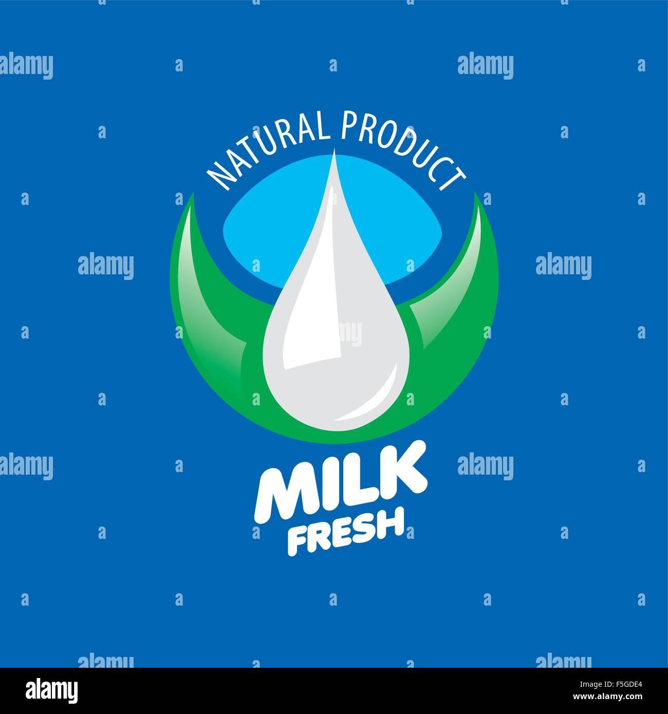 vector milk logo stock vector art amp illustration vector