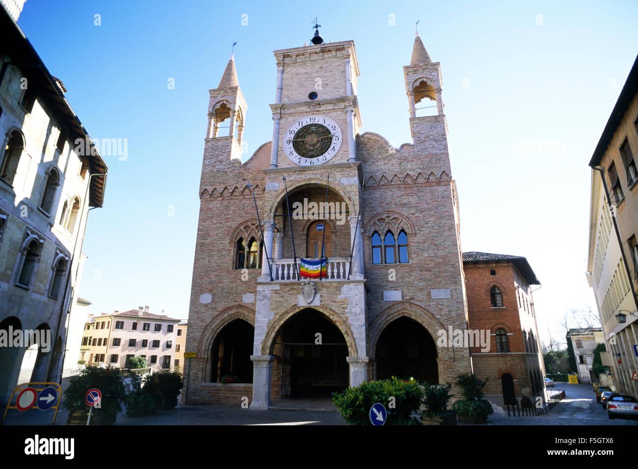 Italy friuli venezia giulia pordenone town hall stock for Arredamento friuli venezia giulia
