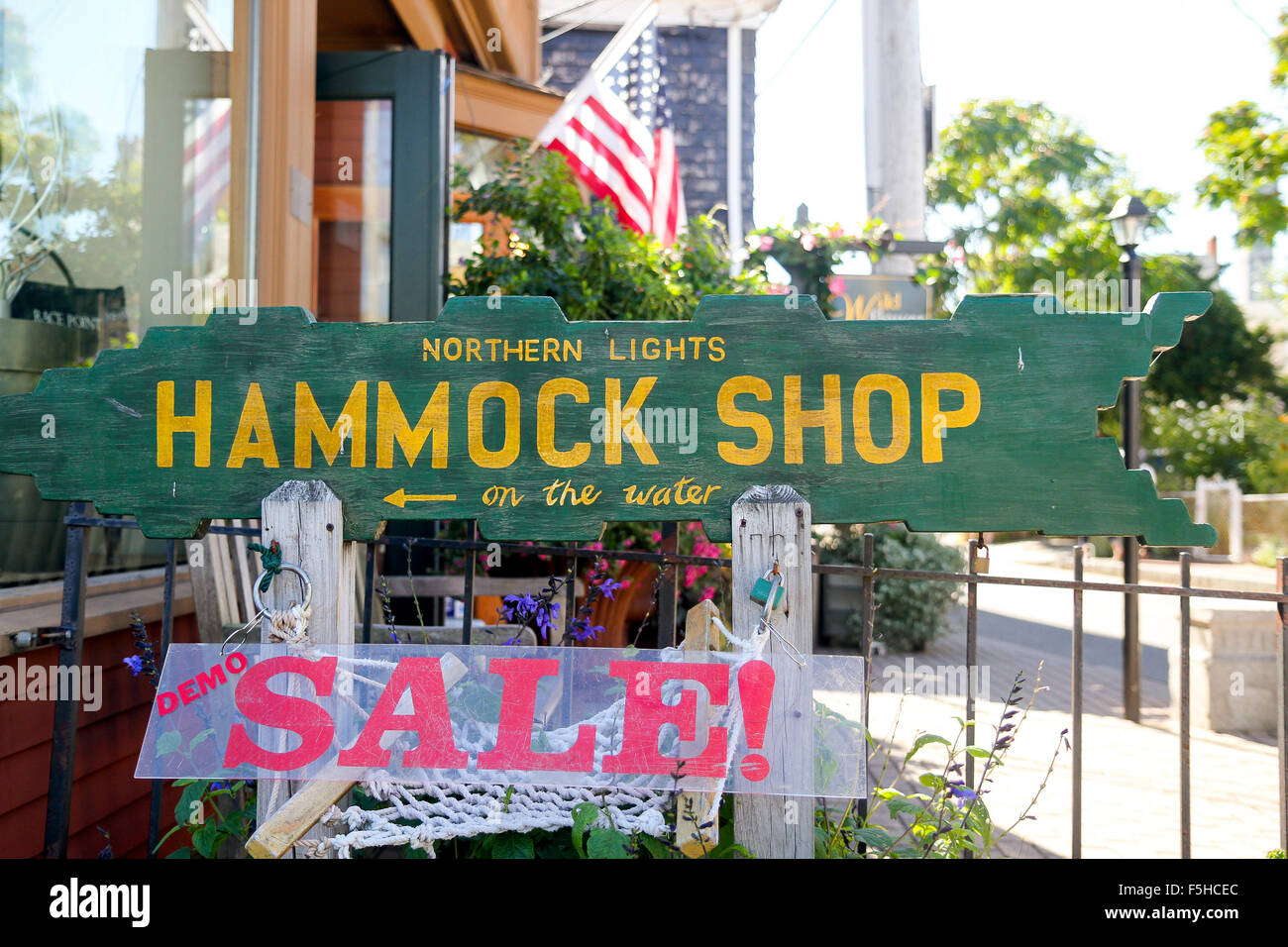 signs for northern lights hammock shop in provincetown cape cod massachusetts signs for northern lights hammock shop in provincetown cape cod      rh   alamy