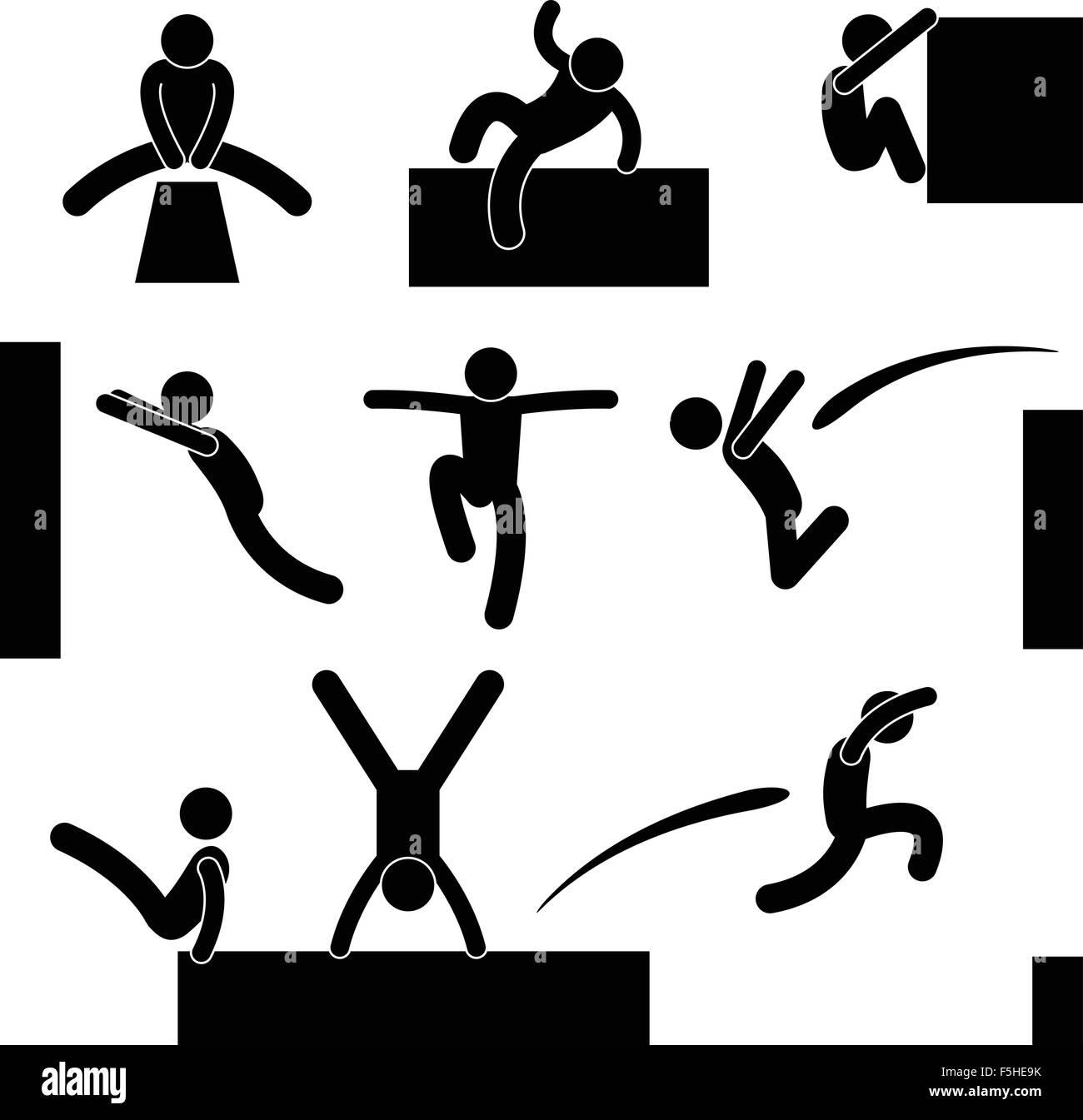 Parkour symbol wallpaper