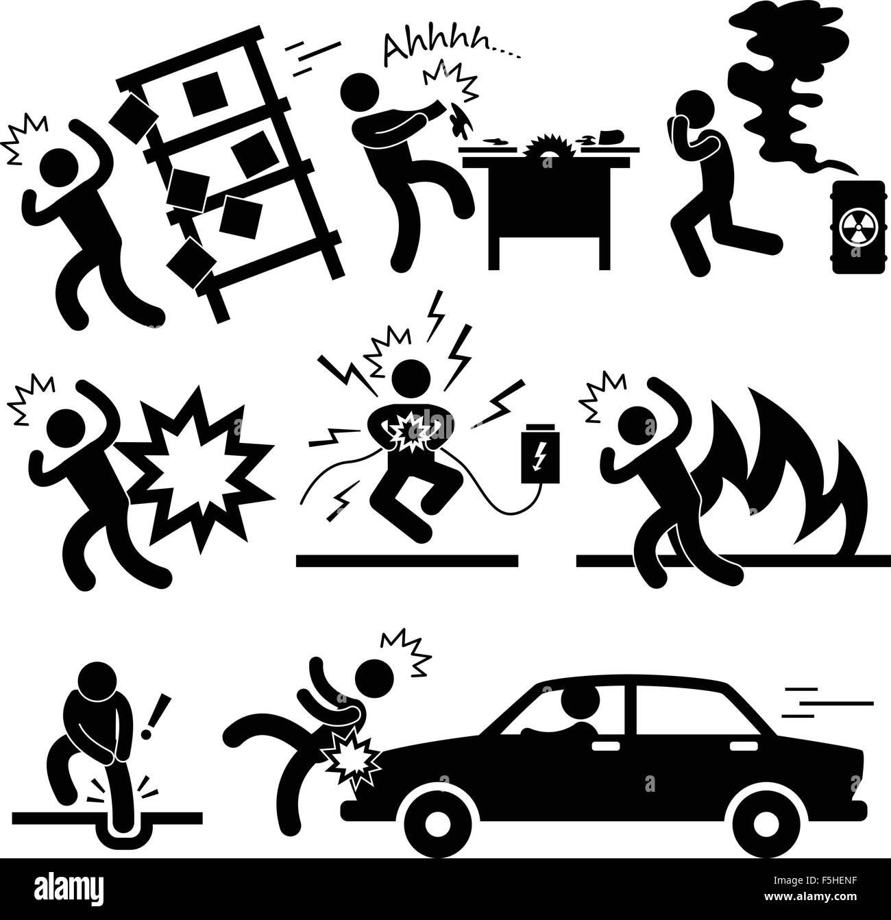 car accident explosion electrocuted fire danger icon clip art explosion happy clip art explosion black women