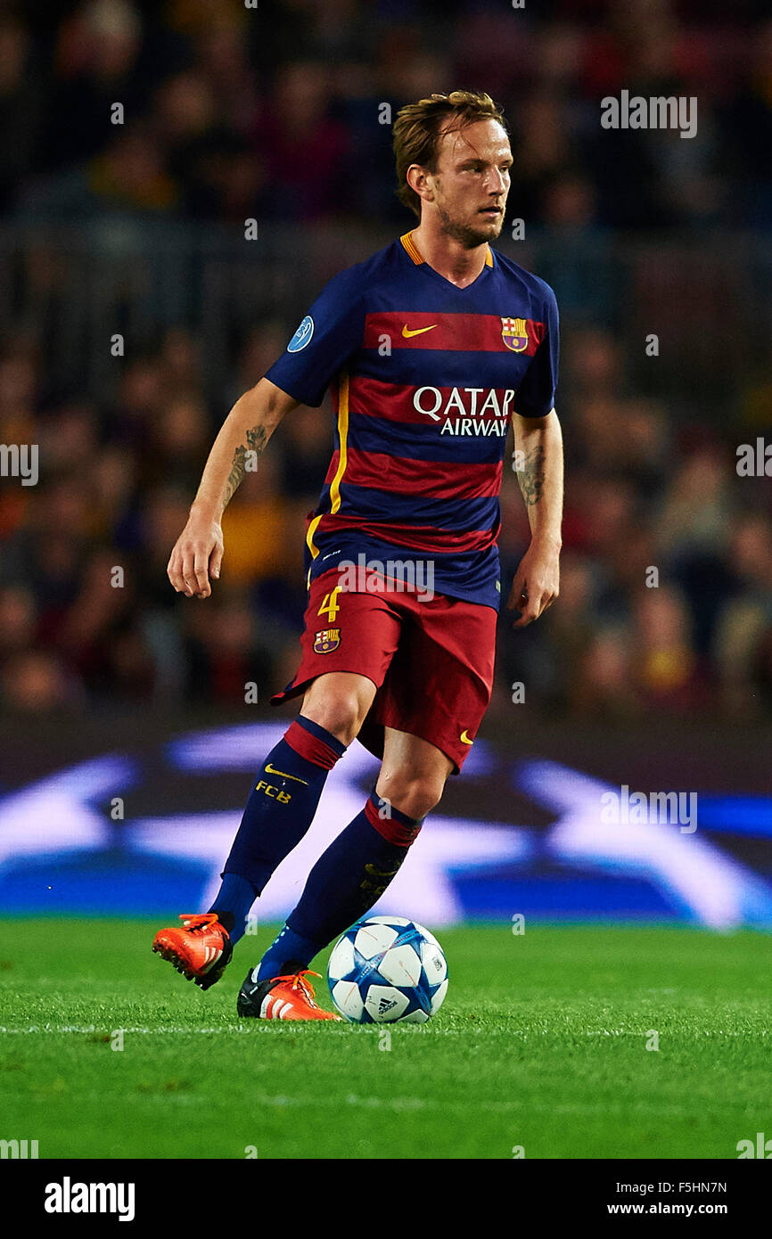 Ivan Rakitic FC Barcelona during the Champions League soccer