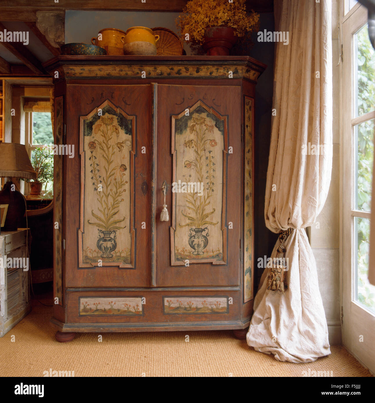 vintage antique furniture wardrobe walnut armoire. Antique Armoire Furniture. Painted Beside Window With Heavy Cream Curtain In Country Living Vintage Furniture Wardrobe Walnut A
