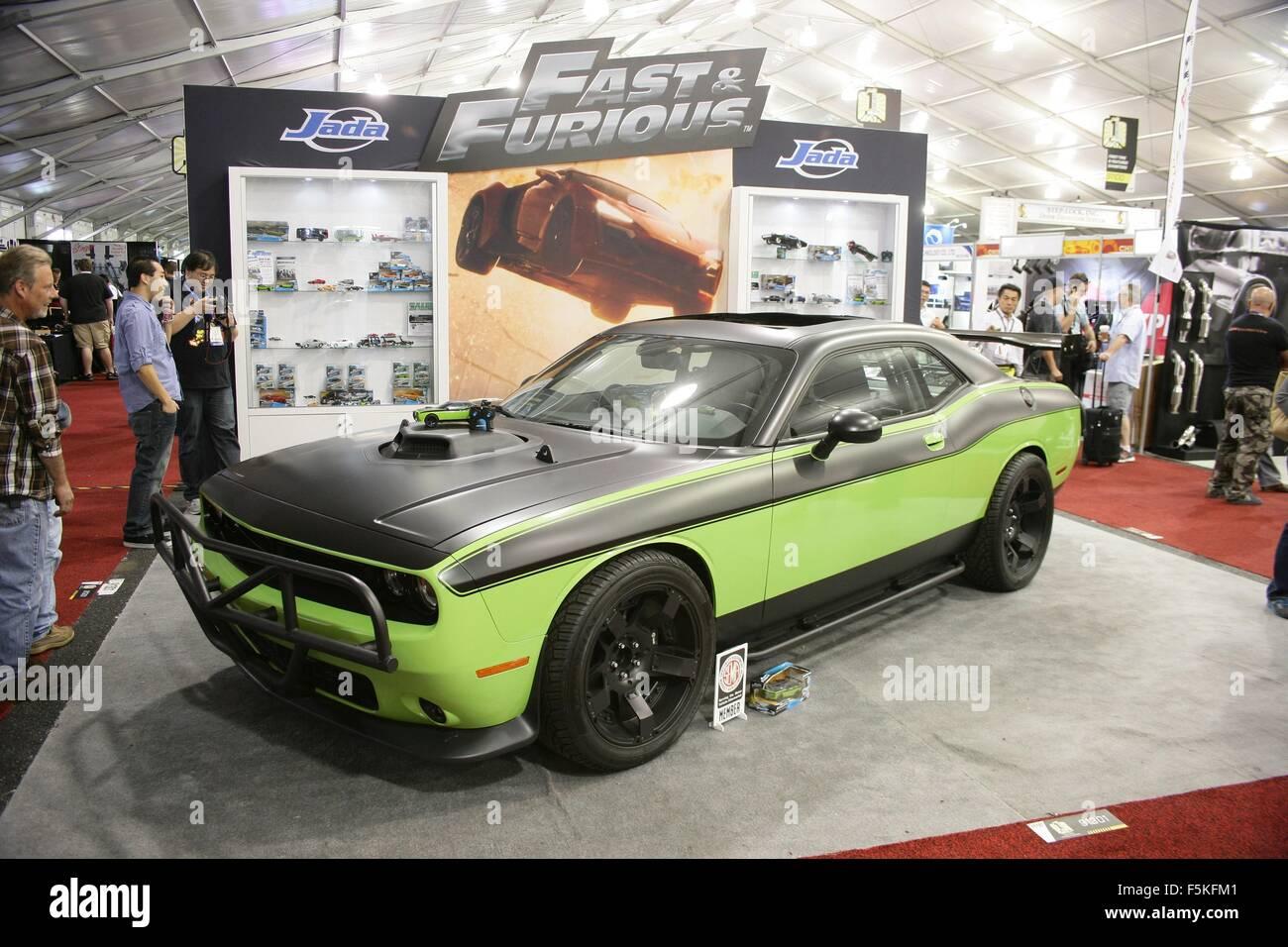 Las Vegas NV USA 5th Nov 2015 2015 Dodge Challenger Car from